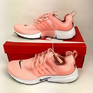 Nike Air Presto Running Shoes Women's 11 Pink New